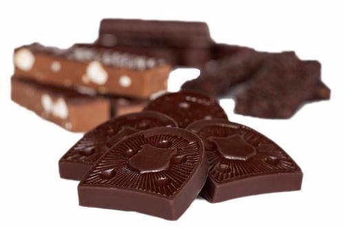Et udsnit af de lækre produkter vil sælger i Chokolade Online